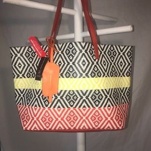 INC International Concepts Reyna Faux Leather Tote